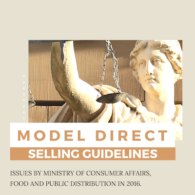 Model Direct Selling Guidelines India